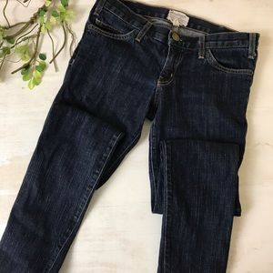 Current/Elliot The Skinny Dark Wash Jean Size 27